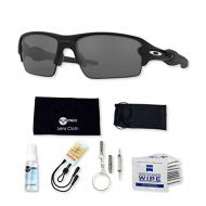 Oakley Flak 2.0 OO9295 Sunglasses Bundle with original case, and accessories (6 items)