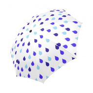882dda6a5 WECE Funny Rain Drops Automatic Foldable Umbrella Compact Parasol Umbrella  Umbrella Windproof Rainproof