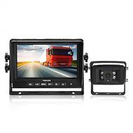 311fafa1199 Wolfwhoop Haloview MC7601 Backup Camera System Kit 7 LCD Reversing Monitor  IP69K Waterproof Rear View Camera